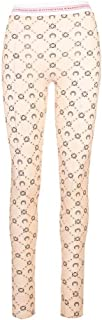 Luxury Fashion | Marine Serre Women P035SS20W72 Beige Elastane Leggings | Spring-summer 20