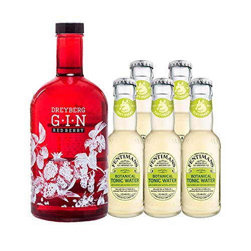 """Dreyberg Gin """"Red Berry"""" & Fentimans Tonic Mix"""