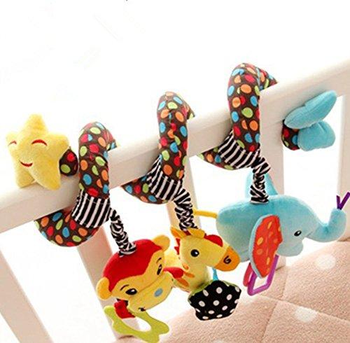 Beauty DIY Mart Lomire Jouet Spiral et Suspendu Autour du lit ou de la Poussette pour Les bébés,...