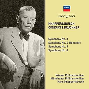 Bruckner: Symphonies Nos. 3, 4, 5 & 8