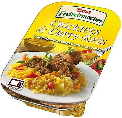 Buss Chicklets & Curry-Reis im 6er Pack (6 x 300g)