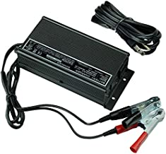 Schauer JAC0324-C (With Battery Clips) Mobile Equipment Electronic Battery Charger: 24 Volt, 3 Amp