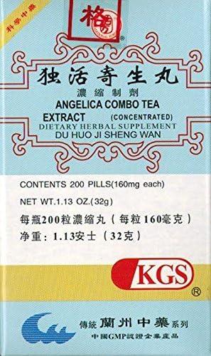 Angelica Combo Tea Extract free Branded goods Du Huo Sheng Wan Ji