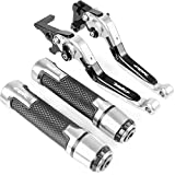 Repuestos Powersports Accesorios de motos freno palancas de embrague del manillar mano Grips extremos for HONDA CBR600RR CBR 600 RR CBR600 RR 2003 2004 2005 2006 (Color : O Set of styles)