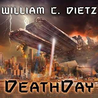 DeathDay audiobook cover art