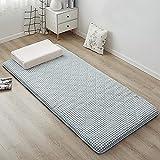 CheChe-nh Alfombra de piso de tatami japonesa a cuadros de moda, transpirable, almohadilla de futón Tatami suave y portátil...