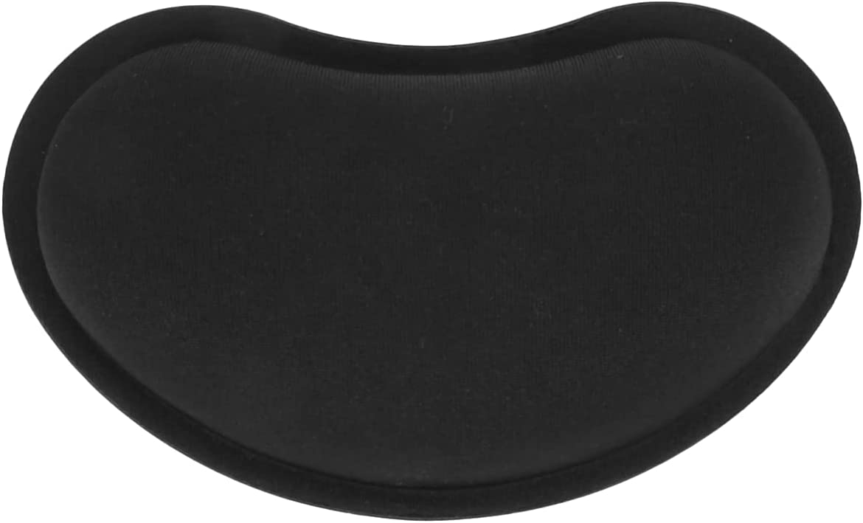 Acmdehk Gel Memory Foam Set Keyboard Wrist Rest Pad, Mouse Wrist Cushion Support for Office, Lightweight,Black