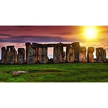 Visit Bath and Discover the Mysterious Stonehenge in The UK for One - Tinggly Voucher/Gift Card in a Gift Box