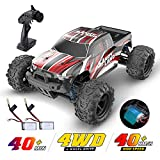 DEERC RC Car High Speed Remote Control Car for Kids Adults 1:18 Scale 30+ MPH 4WD Off Road Monster Trucks,2.4GHz All Terrain Toy Trucks with 2 Rechargeable Battery,40+ Min Play Gifts for Boys…