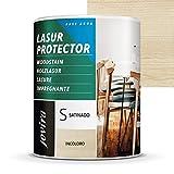 LASUR PROTECTOR AL AGUA SATINADO (750 ml, INCOLORO)