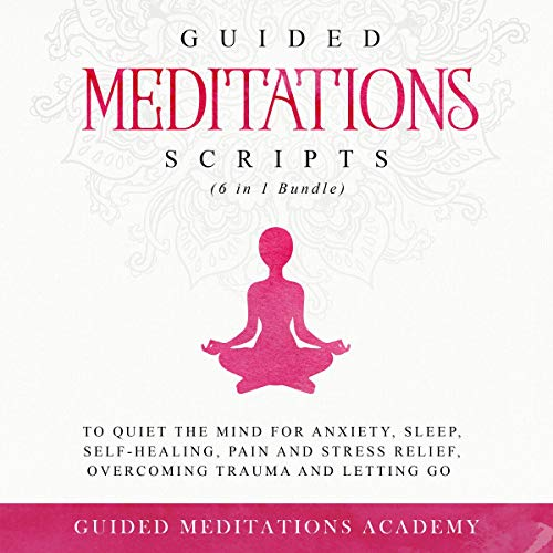 Guided Meditations Scripts (6 in 1 Bundle) cover art