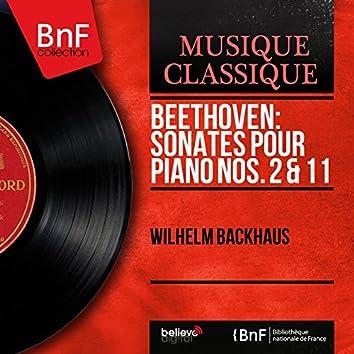 Beethoven: Sonates pour piano Nos. 2 & 11 (Mono Version)