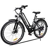 Vivi 26' Bici elettrica da Città/Trekking/Montagna, Batteria agli ioni di Litio da 36V/8Ah, Bici...