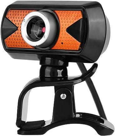 ASHATA USB HD Webcam, 16 MP HD USB PC Webcam Web Cam 360 ° Ruota Web Camera, Microfono Digitale Incorporato Webcam Computer Camera per la Registrazione di Video Chat MSN ECC. - Trova i prezzi più bassi