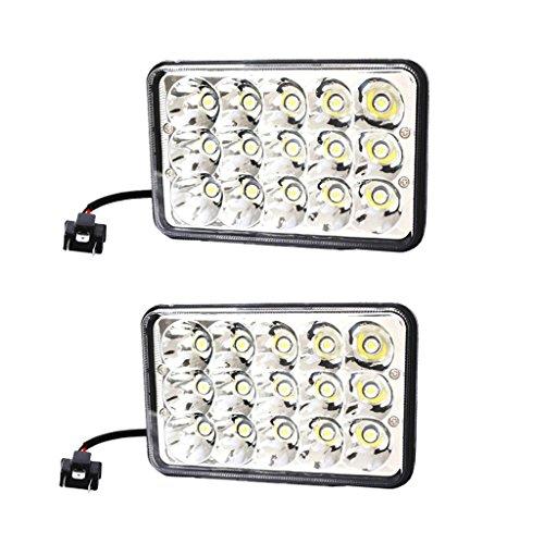 Baoblaze Projecteur Phare Ampoules Spot LED Lumière de Voiture - Noir