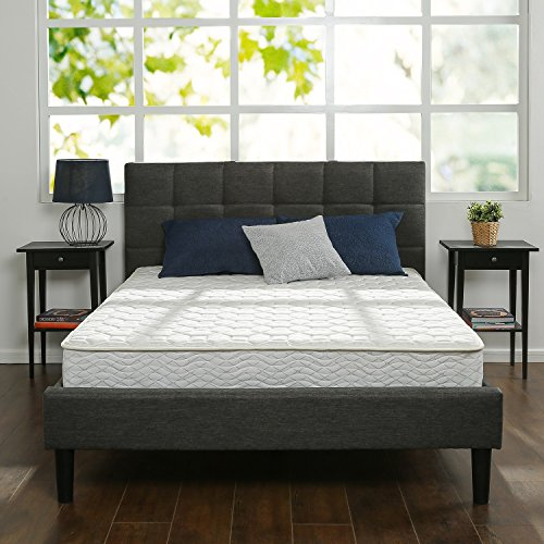 Zinus 8 Inch Hybrid Green Tea Foam and Spring Mattress, Queen
