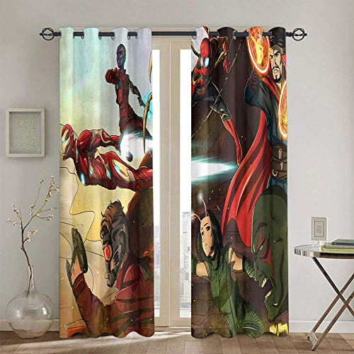 Energy Efficiency Curtains Star Wars Curtains for girls bedroom Treatment Curtains 42'x45'