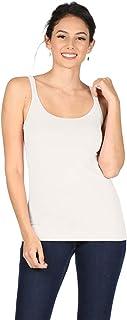 قميص حمالات للنساء بدون أكمام من كامي بمقاس كبير وصدرية نسائية رياضية - صنع في الولايات المتحدة الأمريكية