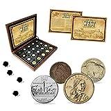 IMPACTO COLECCIONABLES Monedas del Mundo - Colección de Monedas - 20 Monedas, Colección El Salvaje Oeste