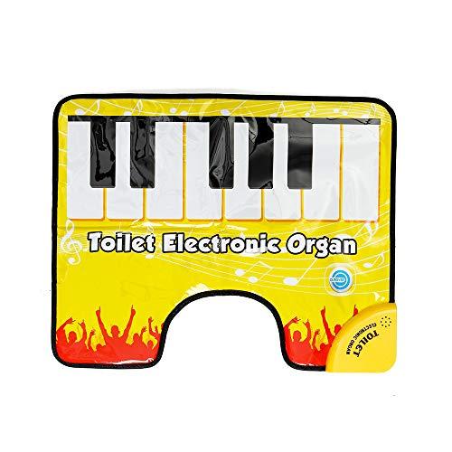 VIDOO Touch Play Keyboard Musik Singen Toilette Teppich Teppich Erwachsene Kinder Spaß Casual Decompression Spielzeug Klavier Decke