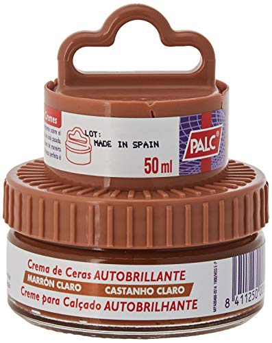 palc, lucidascarpe (438 x) diversi colori, 50 ML con applicatore a spugna