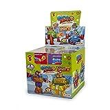 SuperZings - Serie 3 - Display con Colección Completa de 8 Robots y 8 Figuras...