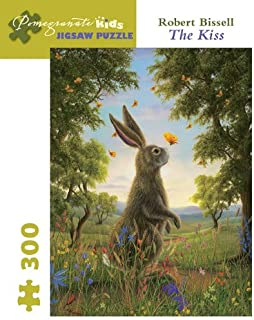 Robert Bissell - the Kiss: 300 Piece Puzzle (Pomegranate Kids Jigsaw Puzzle)