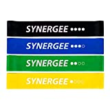 Synergee Mini Band Resistance Loop Exercise Bands Set of 4