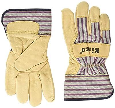 Kinco 1917 Grain Pigskin Leather Palm Work Glove