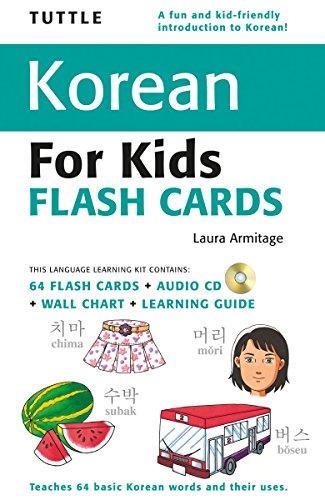 Tuttle Korean for Kids Flash Cards (Tuttle Flash Cards)
