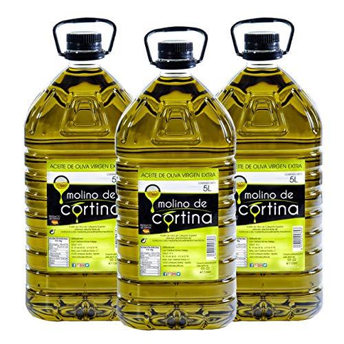 Aceite de Oliva Virgen Extra Molino de Cortina- Coupage Hojiblanca, Arbequina y...