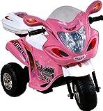 ARTI Moto électrique - Voiture - Véhicule électrique pour Enfant - Scooter Electric Ride-on 238 Buzzy Pink