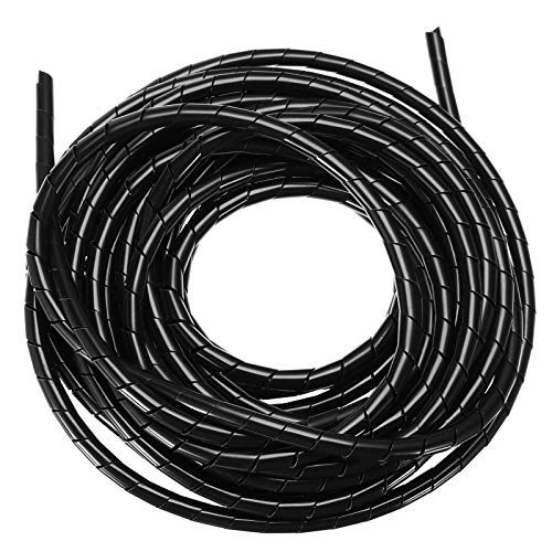 F-Mingnian-rsg 10M Negro 1pc 5M / / blanco en Espiral organizador del...