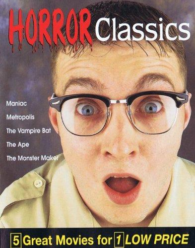 Horror Classics V05: Maniac / Metropolis / The Vampire Bat / The Ape / The Monster Maker