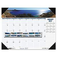 hod178–コーストライン写真月間デスクパッドカレンダー