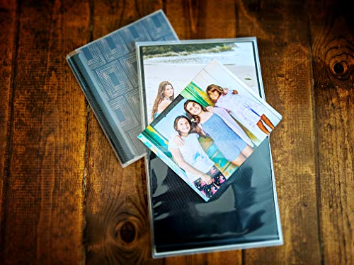 CocoPolka 8x10 Photo Albums Pack of 2 - Each Large Format Flexible Photo Album Holds Up to 48 8x10 Photos in Black… |