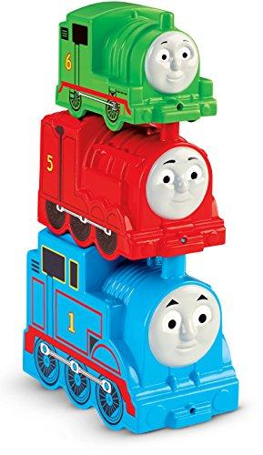 Fisher-Price Mattel CDN14 - Stapelspaß Dampflokomotive