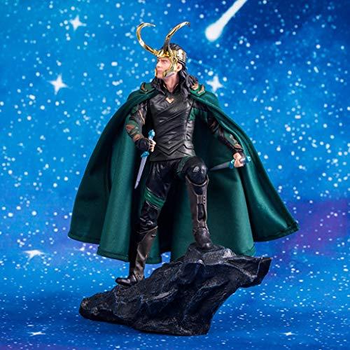 ZfgG Vengadores Modelo Estatuas Anime Adornos en caja Regalos Artesanía 25cm