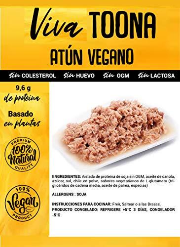 Viva Planta Toona Atun 250g   Sin Gluten   Vegan   Sin carne   100% Vegetal   Plant Based   Sin Gluten