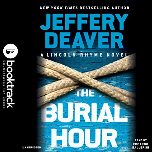 The Burial Hour audiobook cover art