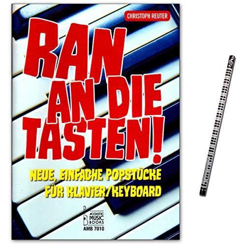Ran an die Tasten. Neue, einfache Popstücke für Klavier/Keyboard von Christoph Reuter - Verlag Acoustic Music Books AMB7010 9783869477107