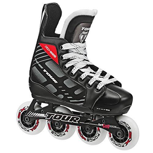 Tour Hockey 38TY-M FB-225 Adjustable Inline Hockey Skate ( Size 1-4 )