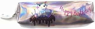 Cute Unicorn Holographic Pencil Case Cactus Alpaca Laser Pencil Bag for Girl Boy Stationery School Supplies Pencil Box