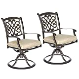dali Patio Glider chairs, Garden Backyard Folding Chairs Outdoor Patio Furniture