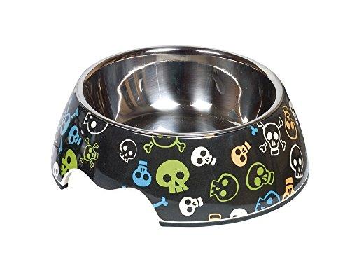 Nobby Gamelle en mélamine pour Chien – Skull