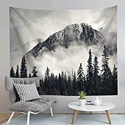 Mountain Forest Landscape Tapestry