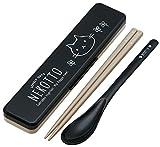 Combi set chopsticks spoon set cat's CCS3SA