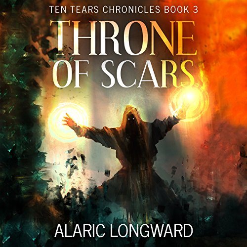 Throne of Scars: Stories of the Nine Worlds audiobook cover art