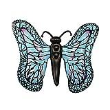 Divertida Tumbona Balsas En Piscina, Flotadores Juguetes para Fiestas Al Aire Libre En El Agua Y Playa, Isla Inflable Cucarachas De Verano para Adultos Y NiñOs,Butterfly