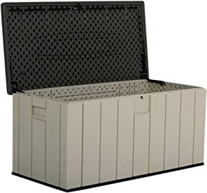 Deck Storage Box Outdoor Outdoor Storage Box 150-Gallon All Weather Waterproof Outdoor Locker for Patio Lawn Garden for Patio, Garage, Backyard (Color : Gray, Size : 150.7x71.9x69.1cm)